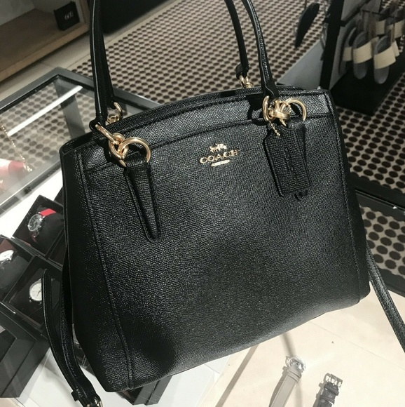 Coach Handbags - Coach Minetta Crossbody Leather F67091 Black